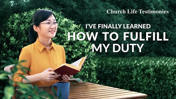 I've Finally Learned How to Fulfill My Duty