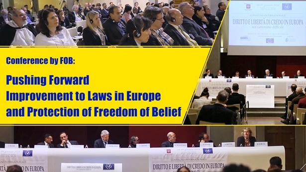 Conference by FOB: Pushing Forward Improvement to Laws in Europe and Protection of Freedom of Belief